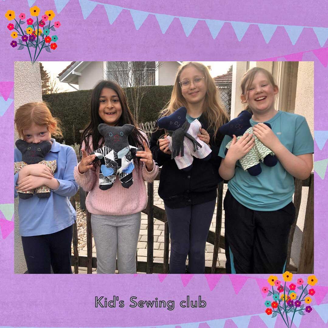 kids sewing club