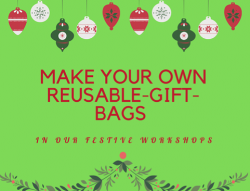 Make your own reusable gift bags